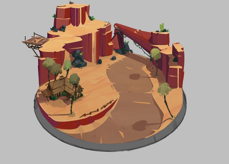 ArtStation - Empires Apart Diorama Concepts, Scott Pellico