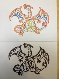Resultado de imagen para charizard tattoo