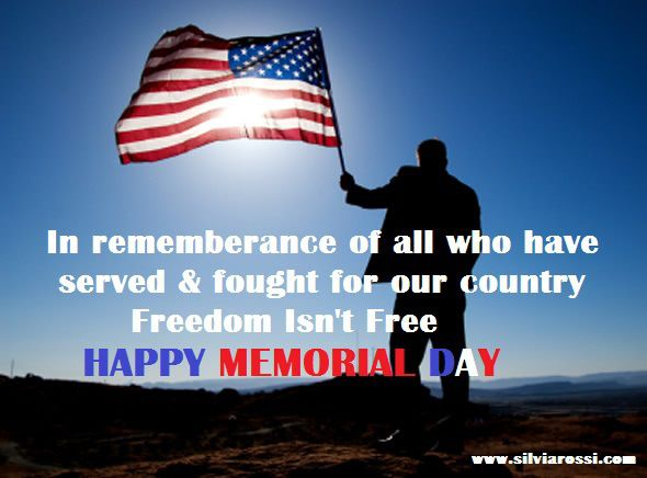 memorial day is not happy