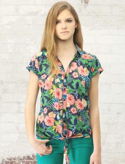 awesome Yazlık Bayan Gömlek Modelleri 2015