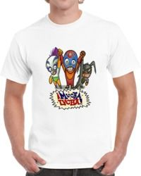 Mucha Lucha Rikochet Buena Girl And The Flea T Shirt