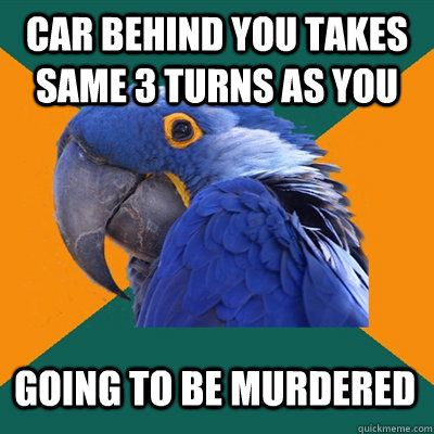 ...: Car, Criminal Minds, Giggle, Paranoid Parrot, Freak, My Life, Thoughts Exactly, Totally Me