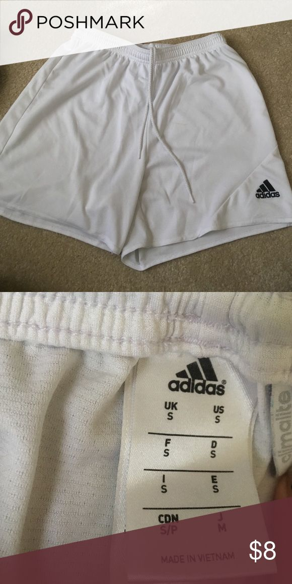 Adidas soccer shorts Never worn! Great condition Adidas Shorts