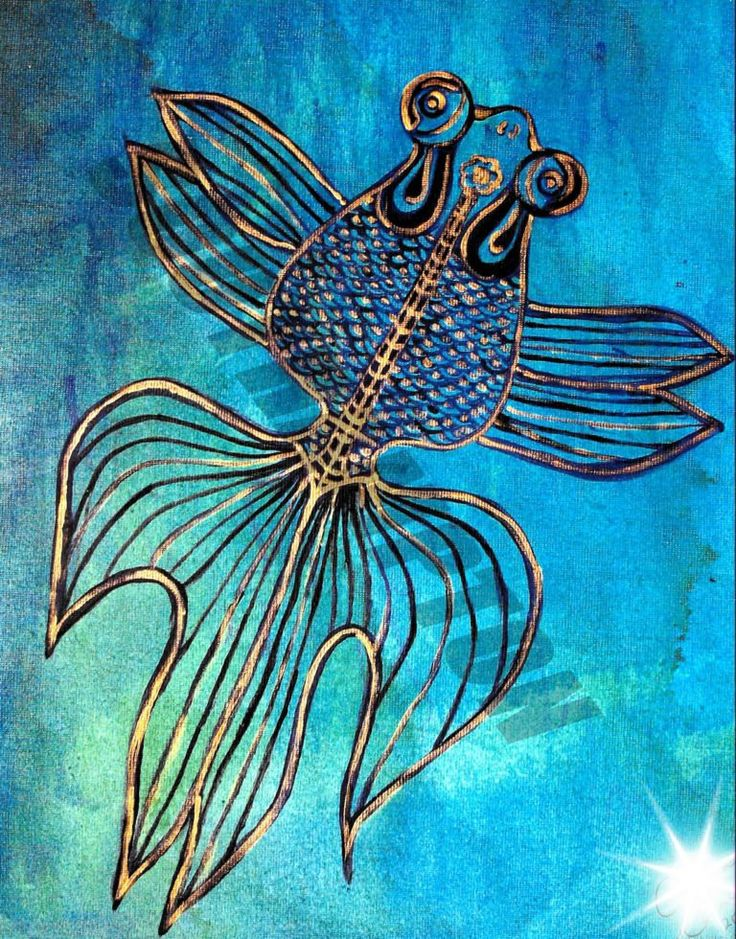 Digital Download Fish in Motion by SouthamptonCreations on Etsy