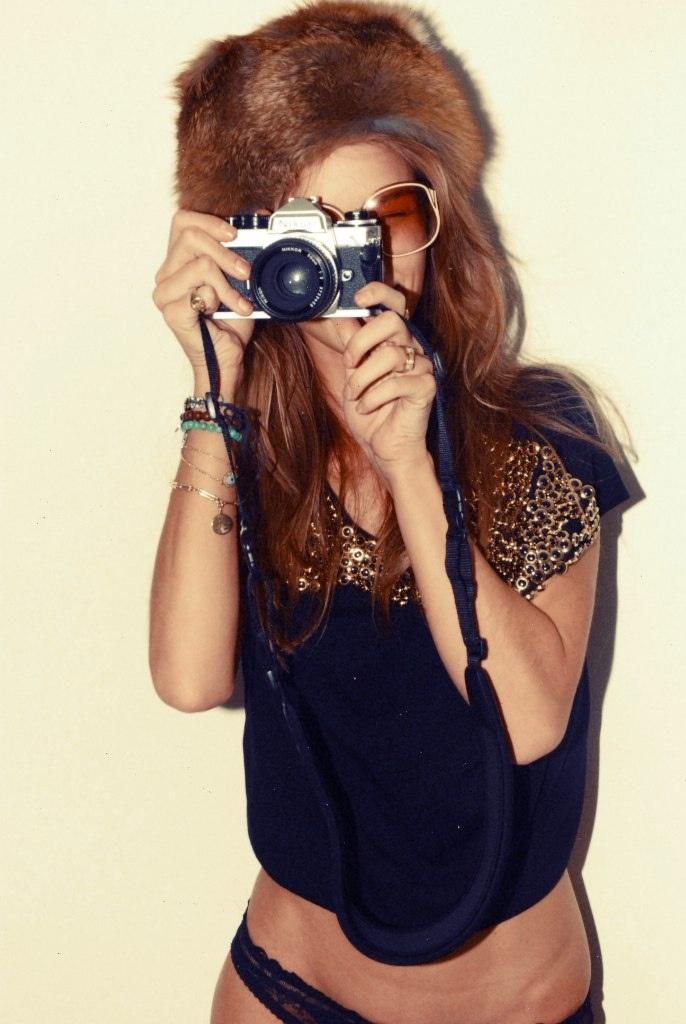 Rosie Huntington fotografada por Kimi Hammerstroem