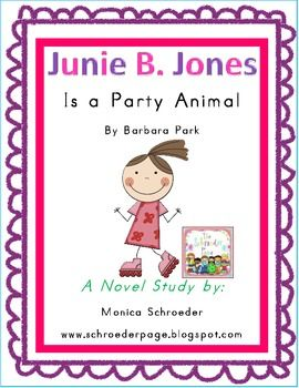 Junie B Jones Is A Party Animal Characters 126 best images about ...