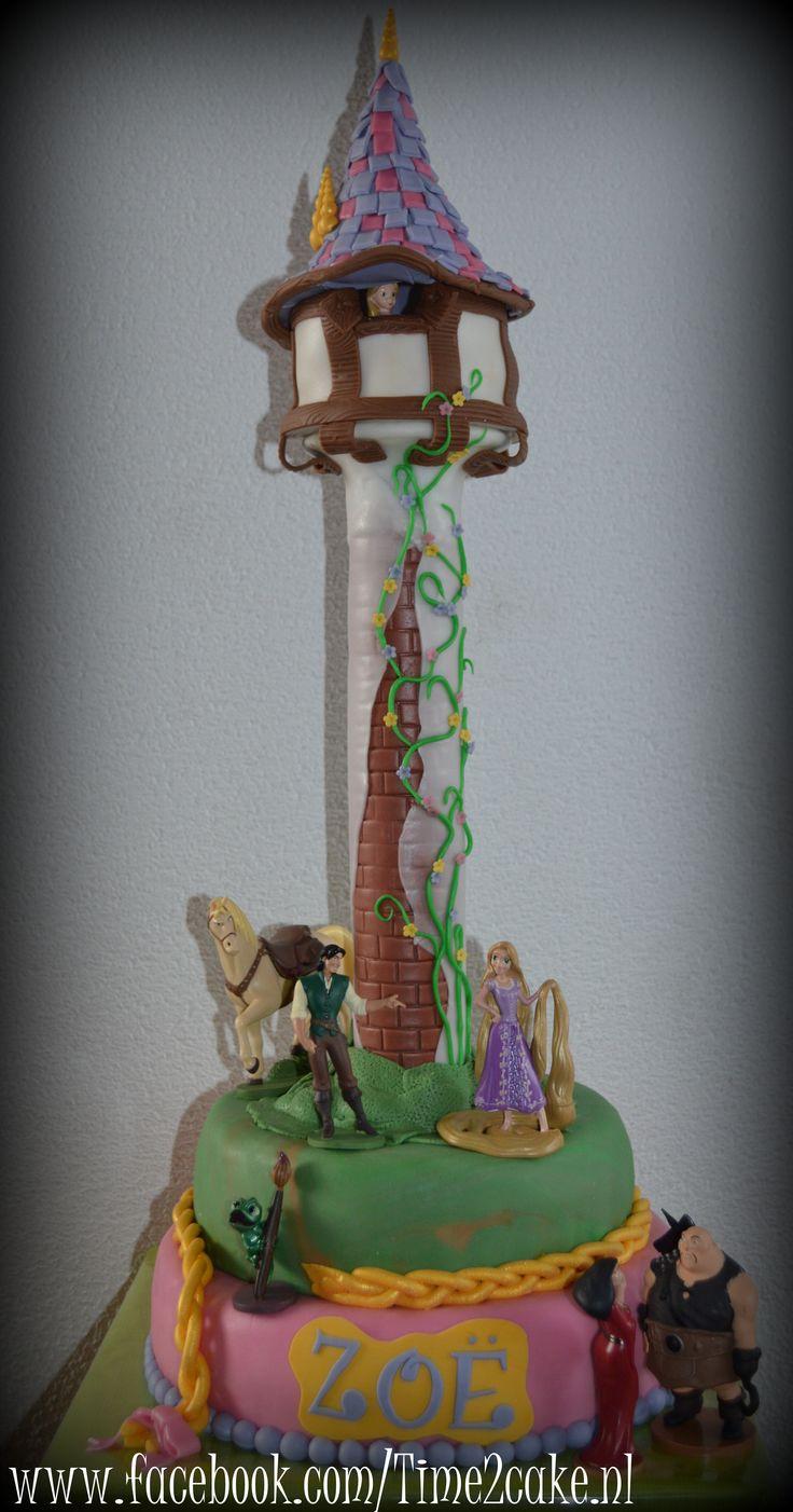 Rapunzel taart