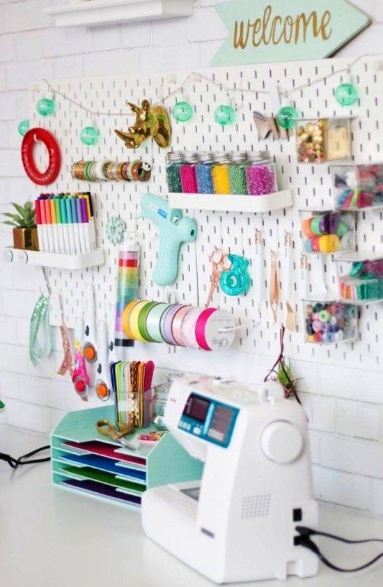 Kreative Tipps und Ideen zum Nähzimmer einrichten - Wohnideen und
