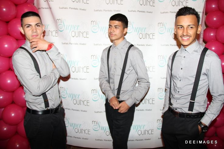 Chambelanes. Grey. Suspender. | Quinceanera Chambelans | Pinterest | Suspenders and Search