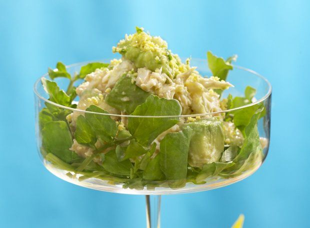 ValentinesDay #Madmen #recipe: Crabmeat and Avocado Mimosa from the ...
