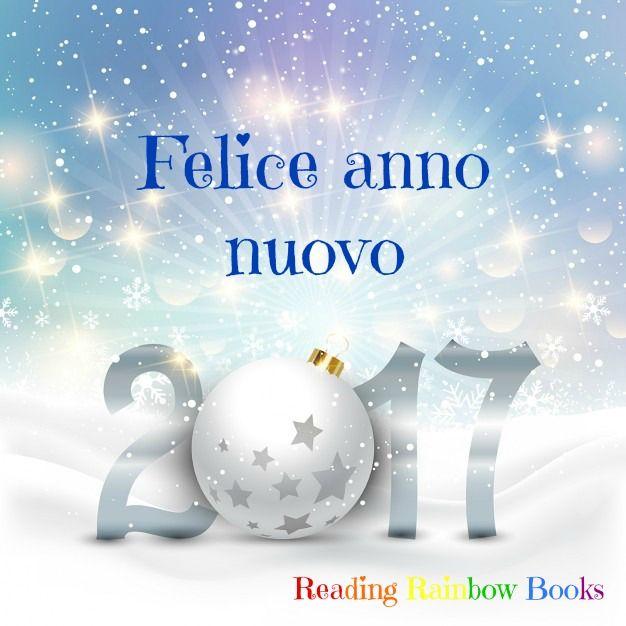 Vi auguriamo un anno ricco di amore,benessere, felicità e tanti buoni libri! Buon 2017 e grazie per aver iniziato a seguiric!