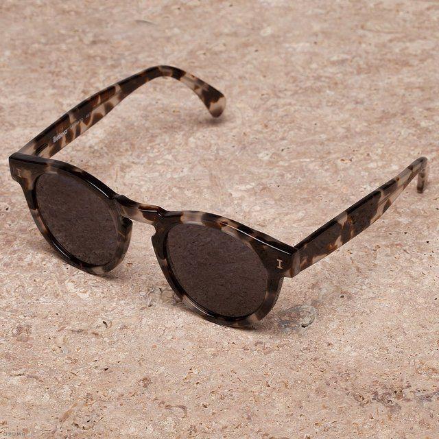 Fancy - Leonard White Tortoise Sunglasses by Illesteva