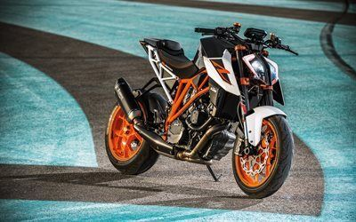 Download wallpapers KTM 1290, Super Duke R, 2017, KTM motorcycle, new motorcycles
