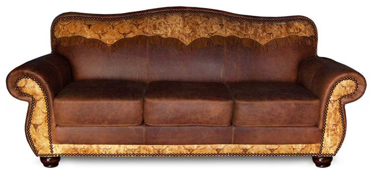 cowhide furniture  western style furniture  country