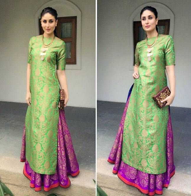 Colour blocking is so not 2012, guys--it's evergreen--more so when it comes to Indian wear. A statement piece by Suhani Pittie became the talking point of her vibrant looking Payal Khandwala ensemble.