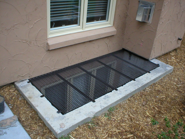 Concrete Well Lids For Wells : Best images about window well covers on pinterest