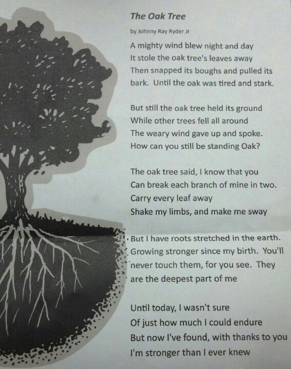 One of my favorite poems. Sent this to my brother who's in recovery. You've made me so proud.