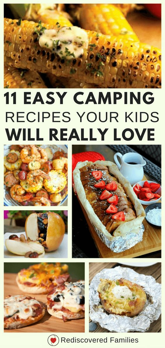11 Easy Campfire Recipes Your Kids Will Love