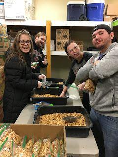 Providence Hospitality Partners LLC: Comfort Inn University - Helps at Food Bank