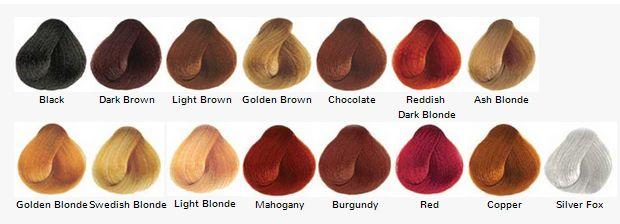 Kleurkaart Surya Brasil Henna Creme