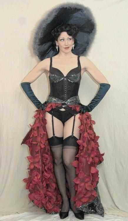 Gypsy Rose Lee tribute by Ixion Burlesque / Lydia Thompson Troupe  http://www.myspace.com/ixionburlesque
