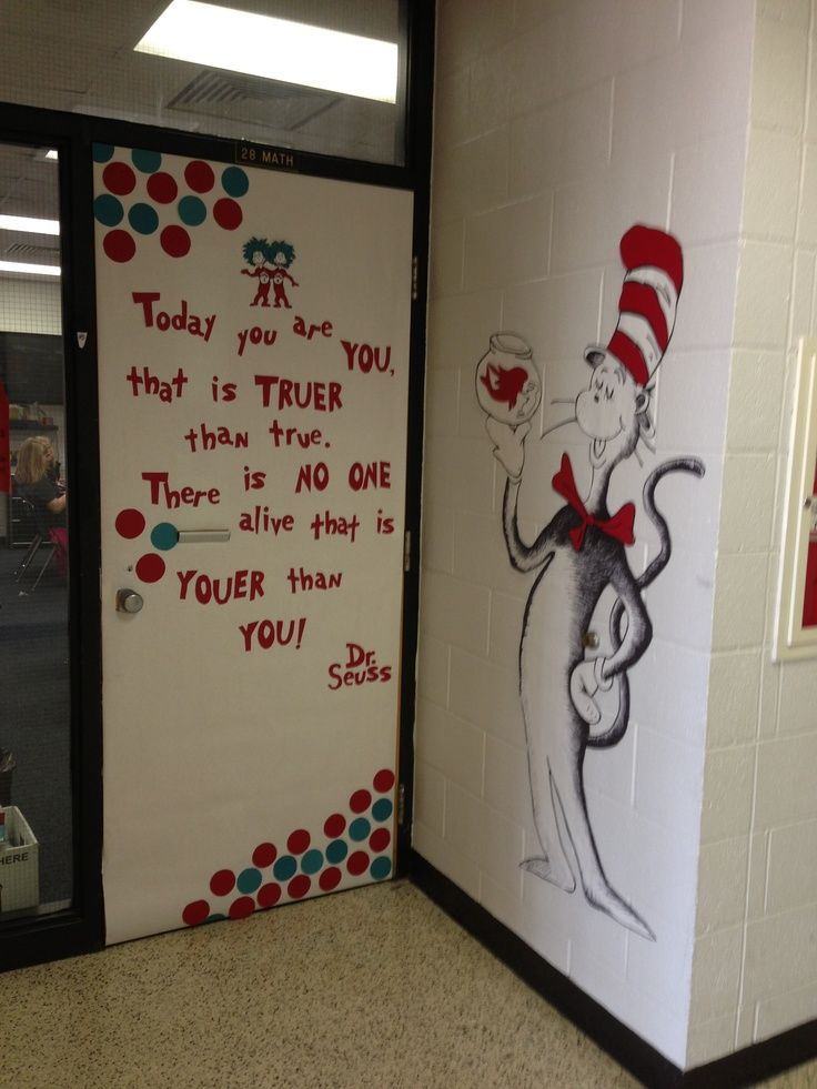 Classroom Decoration Ideas Dailymotion : Dr seuss door decoration pinterest