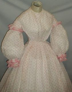 All The Pretty Dresses: Super sweet American Civil War era dress