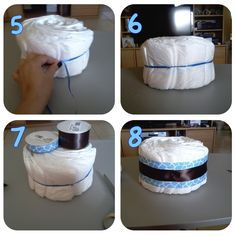 {Tutorials} Mini Diaper Cake Tutorial | Miami Party Entertainment