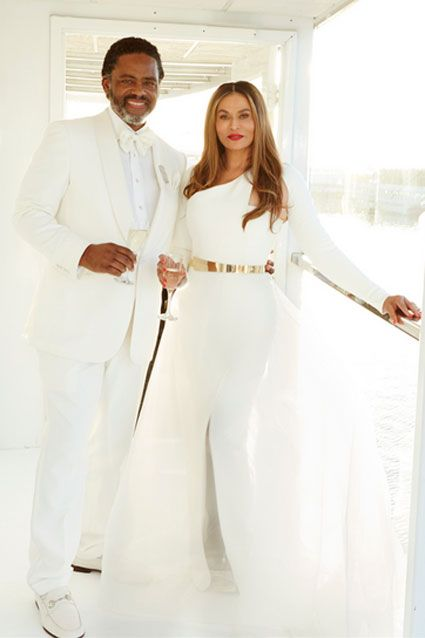 Tina Knowles Marries Richard Lawson -- See the Pic!