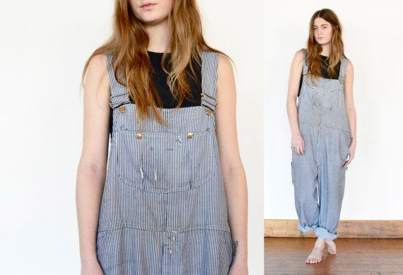 DENIM Boyfriend conducteur salopette / barboteuse par shopfuture