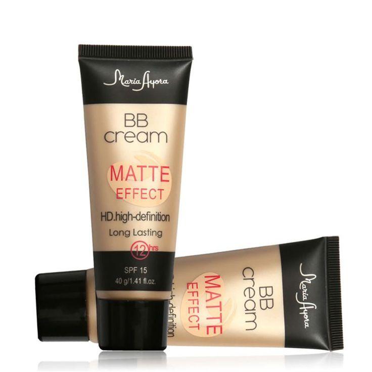 1 PCS Pro Ladies Make Up SPF 15 Sun Block Matte BB Cream Natural Long Lasting Face Concealer Makeup Base BB CC Cream