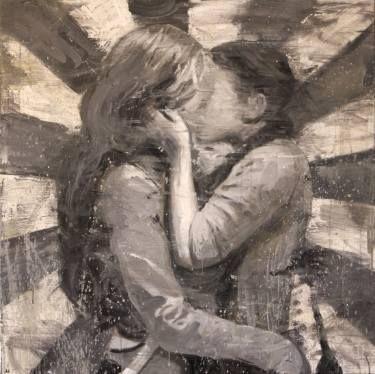 "Saatchi Art Artist Kjetil Jul; Painting, ""First Love (SOLD)"" #art"