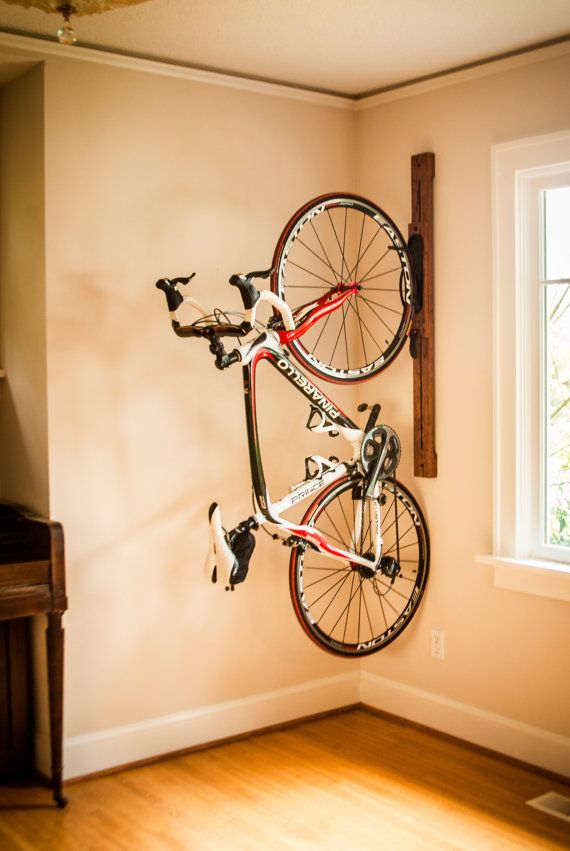Bike rack - 4' Adjustable Vertical Wall-Mount for Home or Apartment - Zivot  USA - Best 25+ Wall Mount Bike Rack Ideas On Pinterest Hanging Bike