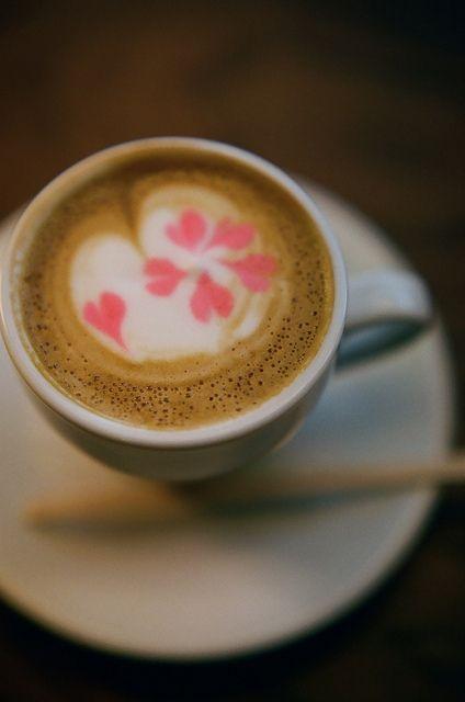 Cherry Blossom Latte ◯'█▬█ tเ๓є Ŧ๏г ร๏๓є ђ๏t ςђ๏ς๏lคtє ◯ r tเ๓є Ŧ๏г a \░/Ɔ Ɔup ◯Ŧ レ❤V£