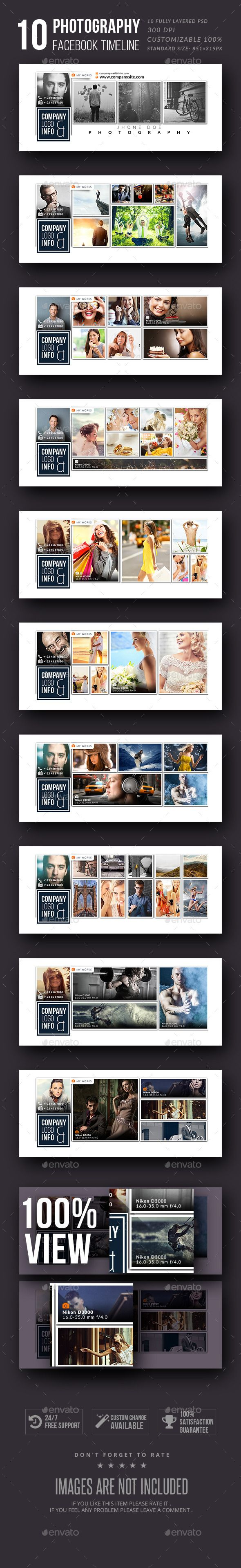 Photography Facebook Timeline Cover Template PSD #design Download: http://graphicriver.net/item/photography-facebook-timeline-cover/11350587?ref=ksioks