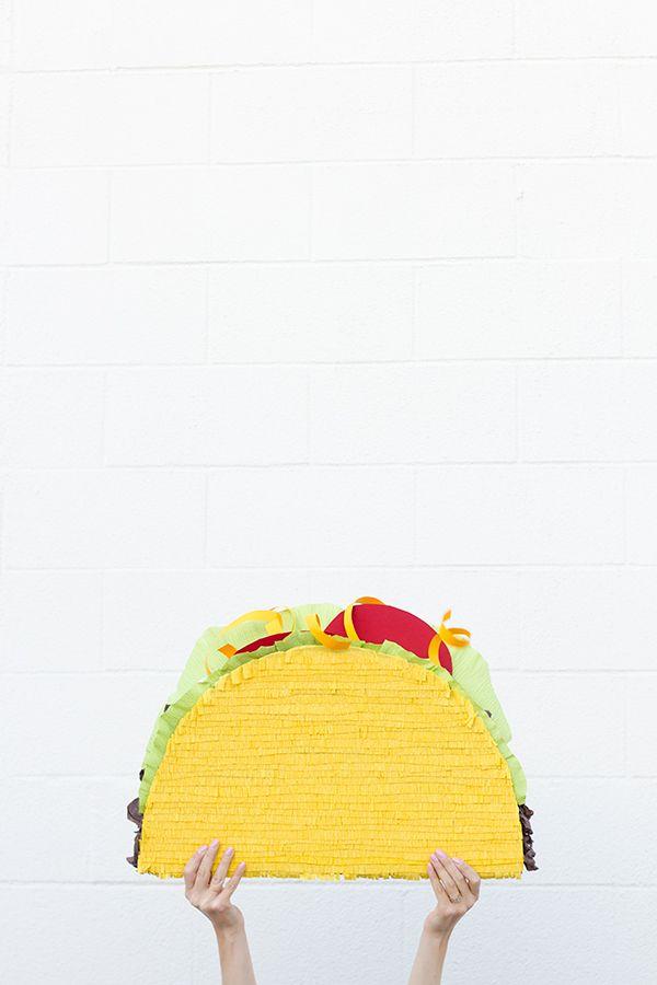 DIY Taco Piñata | studiodiy.com
