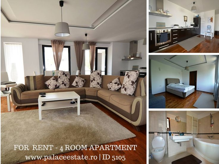 A four room apartment has just set free. Emplaced in Iancu Nicolae area, the most sough for part of Pipera, the property we bring to your attention spreads on 120 usable square meters and fits either for individuals or for families. Close to British School, Jolie Ville Galleria, supermarkets, commercial and wellness centres, this apartment may be an option for anyone who is looking for rent a modern, furnished property. www.papaceestate.ro | ID 5105