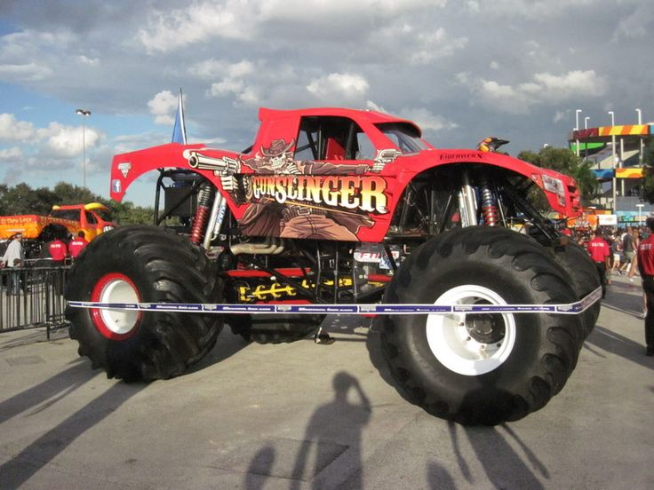 Show de Monster Trucks, Camiones Monstruo - http://www.femeninas.com/monster-trucks/