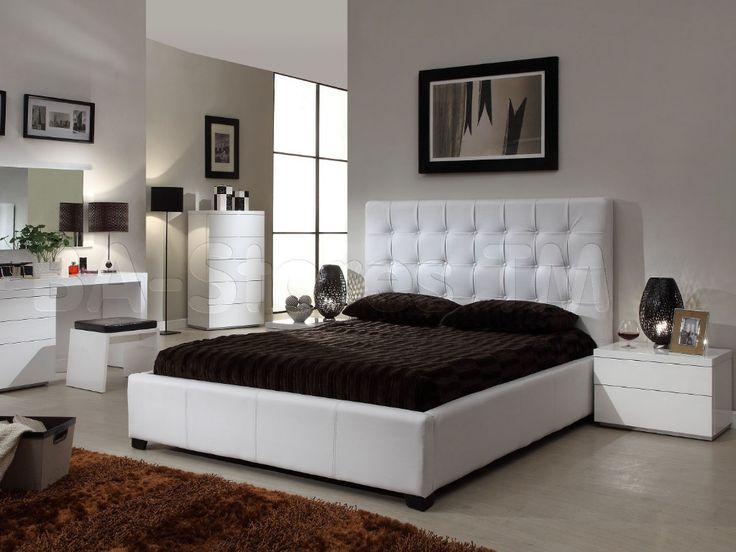 white leather bed bedroom ideas white bed ideas for the perfect bedroom decoration home