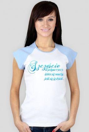 koszulka-szczęście rękawki