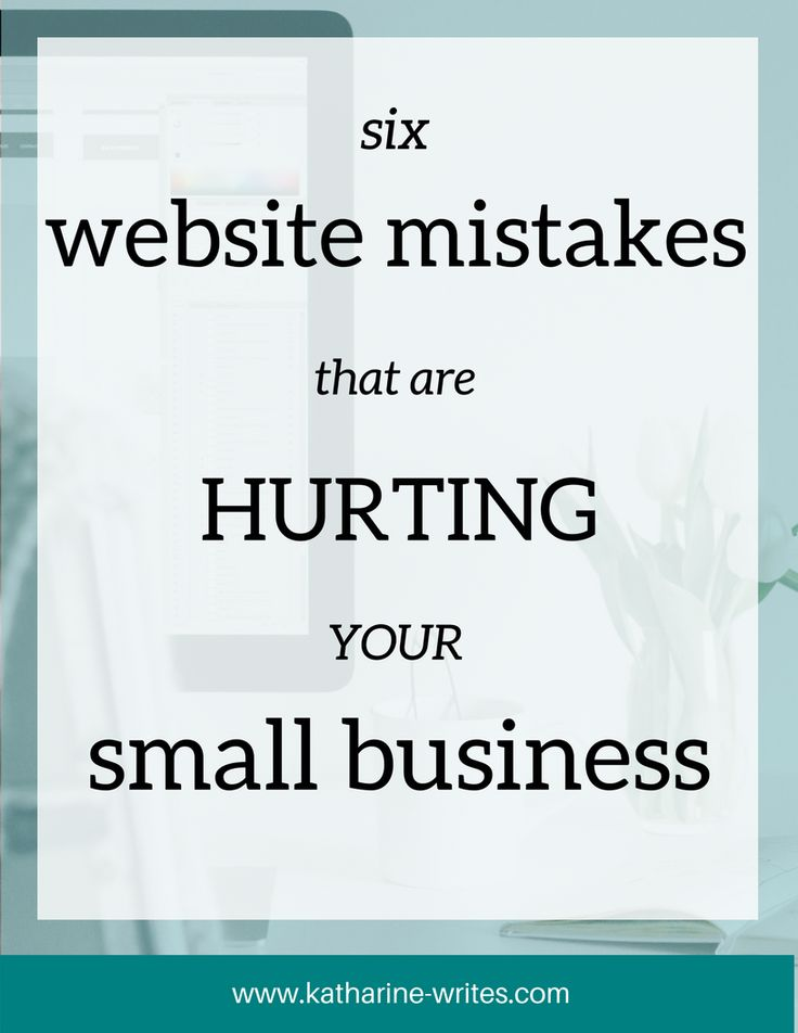 how to find mistakes on website