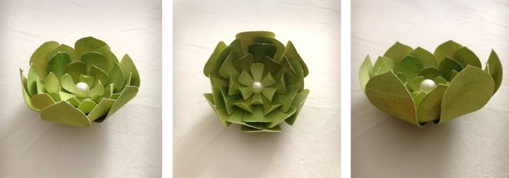 These paper succulents are a larger version of this amazing Lia Griffith tutorial. Her templates are built so that all 10 petal pieces fit on a standard letter size sheet of paper. This is great fo…