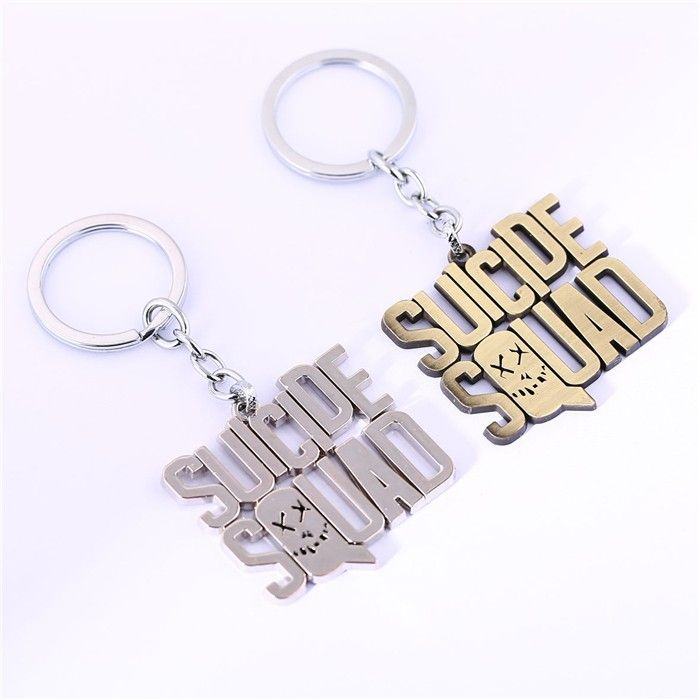 Suicide Squad Keychain   Movie Jewelry
