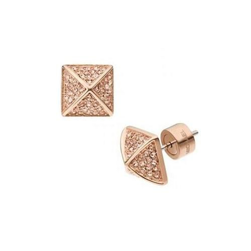 Michael Kors Pyramid Stud Rose Golden Earrings, Your First Choice