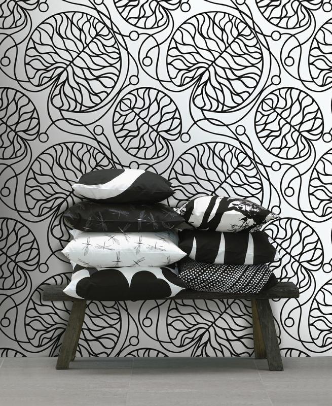 Bottna-kuvio on Anna Danielssonin suunnittelema moderni klassikko. #designfromfinland #sinivalkoinenvalinta #marimekko