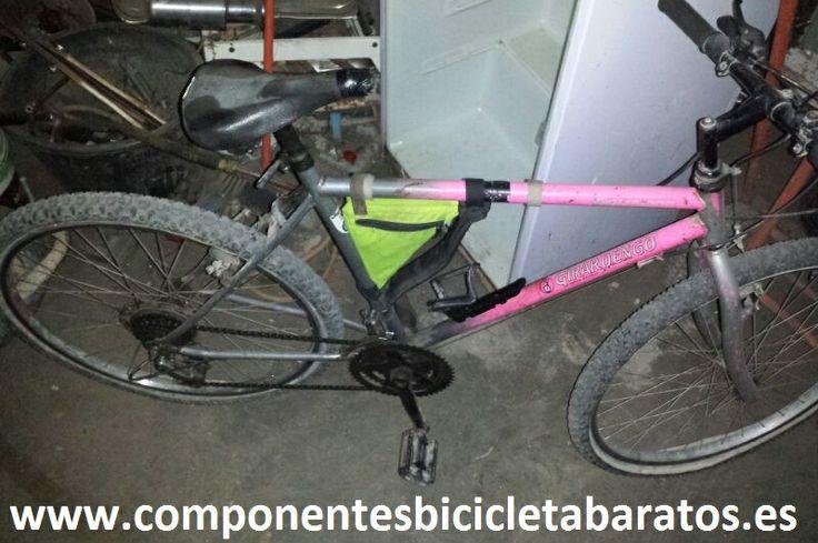 Otra bicicleta de montaña ! Ideal para pequeñas rutas ! Pero espera a que esté terminada ¿ no ?  Propiedad de Componentes Bicicleta Baratos en Zaragoza