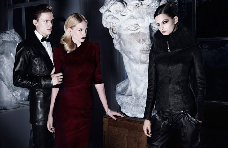 Chris Doe Clad in Leather for Jitrois' Fall/Winter 2012 CampaignFallwinter 2012, Advertis Campaigns, 2012 2013, Dark Beautiful, Jitrois Fall, Fall 2012, Dark Fashion, 2012 Campaigns, Chris Does