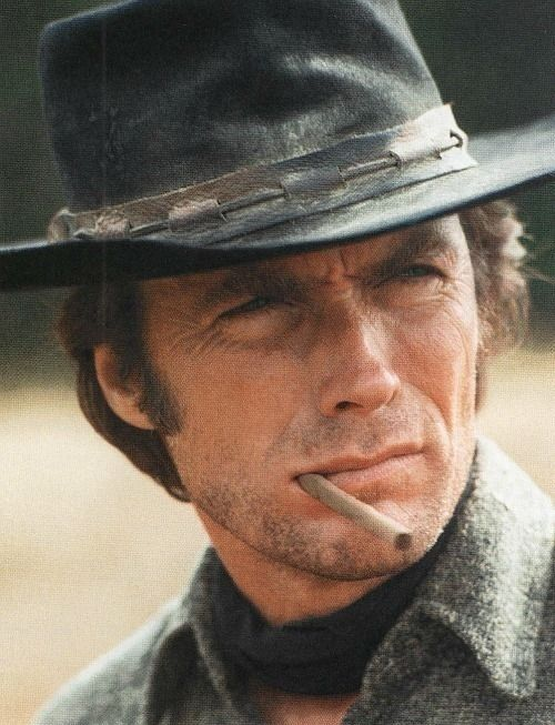 Clint Eastwood photographed by John Bryson, c. 1970s.
