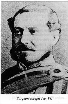 Victoria Cross winner Surgeon Joseph Jee at Lucknow 25th September 1857