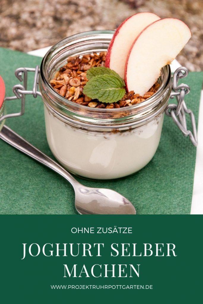 Joghurt Selber Machen Projekt Ruhrpottgarten Veganer Joghurt Joghurt Selber Machen Suppen Rezept Gesund
